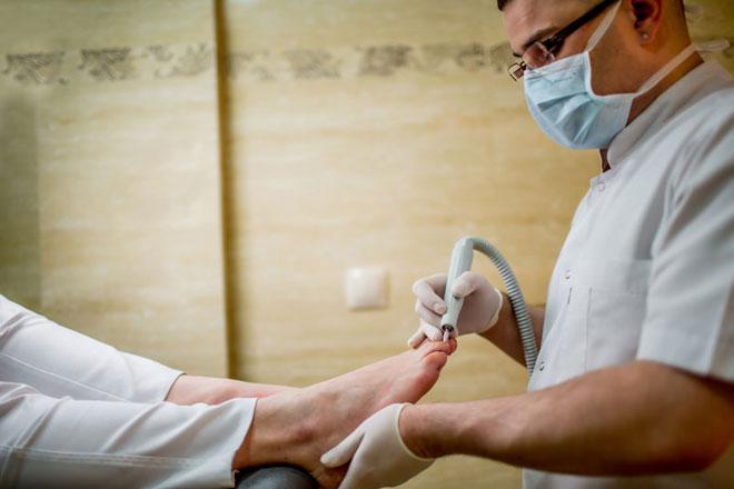 Profesjonalna pielęgnacja stóp